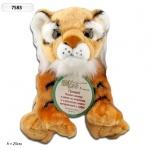 Интерактивное мягкое животное Тигр, 22см (рус)