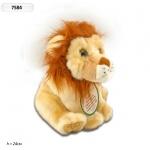 Интерактивное мягкое животное Лев