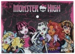 Папка на кнопке, А4 Monster High