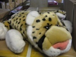 Леопард лежачий музыкальный