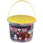 Пластилин Kite Monster High 7 цветов, в ведерке