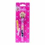 Barbie. Ручка шариковая с фигурным клипом