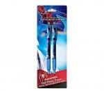 Ручки автоматическая шариковая Spider Man - 2 шт