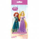 Карандаши цветные трехгранные, 12 шт. Princess