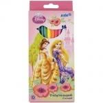 Карандаши цветные 12 шт. Princess