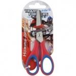 Ножницы детские с резиновыми вставками, 13см Transformers
