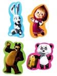 Беби пазлы Маша и медведь (панда) ТМ Vladi Toys