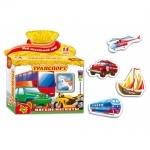 Мягкие магниты Транспорт (укр) ТМ Vladi Toys