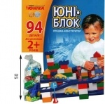 Конструктор Юни-блок 94 детали