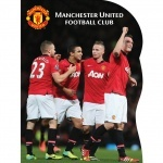 Блокнот вырубка Manchester Unite