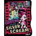 Блокнот вырубка Monster High