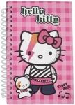 Блокнот картонная обложка, спираль Hello Kitty