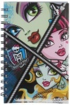 Блокнот , А5 Monster High