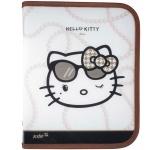 Папка объемная на молнии, В5 Hello Kitty Diva