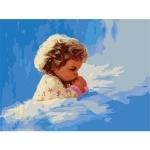 ИДЕЙКА рисование по номерам Молитва малыша