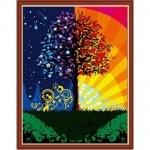 """Рисование по номерам  """"Дерево счастья"""" (в коробке)"""