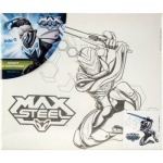 Холст с контуром 25х30см Max Steel