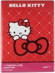 Бумага цветная бархатная, A4 Hello Kitty