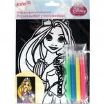 Раскраска с бархатом Princess
