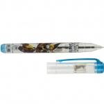 Ручка шариковая с фонариком, синяя Transformers