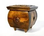 Шкатулка маленькая деревянная