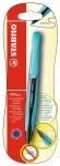 Ручка STABILO автоматическая гелевая COM4gel, синяя в блистере