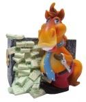 """Копилка """"HORSE"""", 10 см,  золото"""