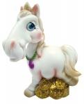 """Сувенир """"HORSE"""", 7 см,  белый"""