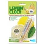 Детская лаборатория. Часы из лимона