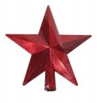"Верхушка ""Звезда"" 20 см , красная"