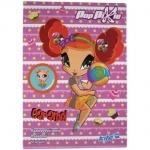 Бумага цветная неон, А4 Pop Pixie