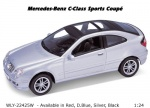 Коллекционная машинка MB C-Class Sport Coupe