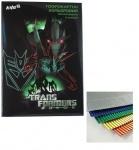 Гофрокартон цветной металик A4 Transform