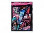 Гофрокартон цветной неон А4 Monster High