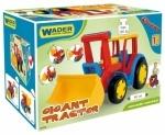 Большой игрушечный трактор Гигант с ковшом ТМ Тигрес