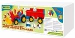 Большой игрушечный трактор Гигант с прицепом и ковшом Тигрес