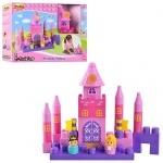 Конструктор замок принцессы, музыкальный
