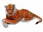 Тигр лежачий музыкальный 110cм