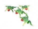 Лягушка резиновая (4 шт)