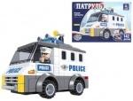 Конструктор AUSINI патруль, полицейский автомобиль