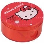 Точилка с контейнером круглая Hello Kitty