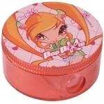 Точилка с контейнером круглая Pop Pixie