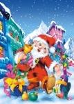 Пазлы Санта Клаус