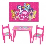 Столик Розовый пони