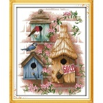 Вышивка Птичкин дом