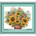 ИДЕЙКА вышивка  Цветущий букет