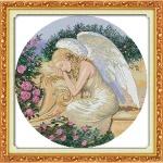 Вышивка крестиком Спящий ангел
