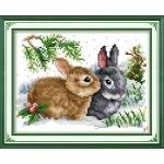 ИДЕЙКА вышивка Крольчата