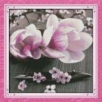 ИДЕЙКА вышивка Цветущие магнолии