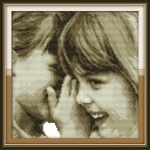 Вышивка крестиком Детские секреты